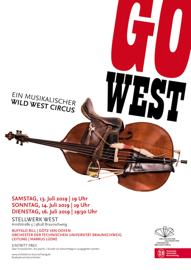 Bild Plakat Go West