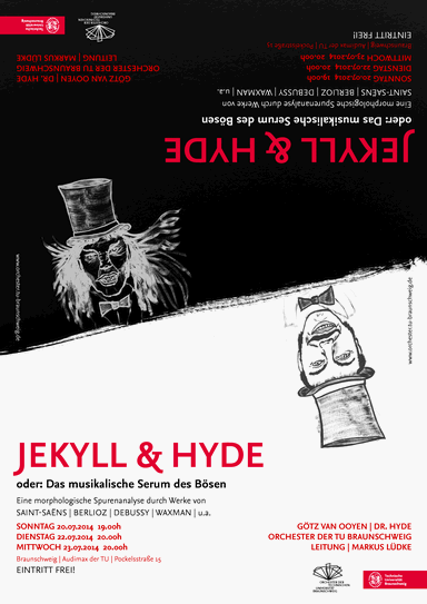 Plakat Jekyll and Hyde