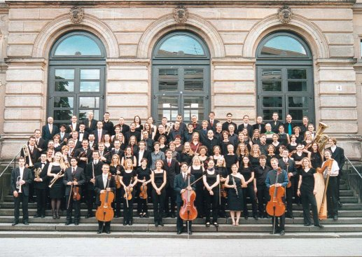 Orchester mit Chor Sommersemester 2001