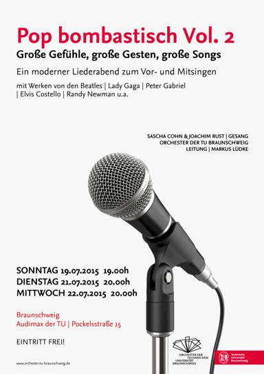 Bild Plakat Pop bombastisch Vol. 2